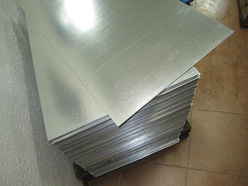 Chapa o placa lisa de acero galvanizado