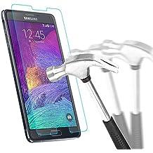 Samsung Galaxy Note 4 Protection écran en Verre Trempé , Bingsale Film Protection d'écran en Verre Trempé pour Samsung Galaxy Note 4/N9100 (Samsung Galaxy Note 4)