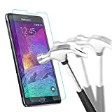 Samsung Galaxy Note 4 Protection écran en Verre Trempé , Bingsale Film Protection d'écran en Verre Trempé pour Samsung Galaxy Note 4/N9100 (Samsung Galaxy Note 4)