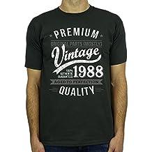 My Generation Gifts 1958 Vintage Year - Aged To Perfection - 60 Cumpleaños Años - Regalo de Cumpleaños Camiseta Para Hombre 0E96j0