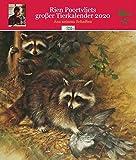 Rien Poortvliets großer Tierkalender 2020 -
