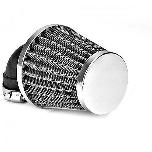 35mm 90° Tuning Sport Luftfilter - Air Filter für Motorrad Roller Quad Moped Mofa