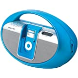 Scott i-SX 10 BL Radio avec Station d'accueil pour iPod/iPhone Tuner FM/AM Bleu