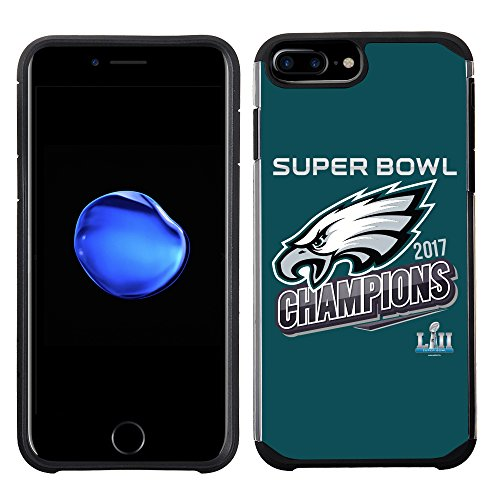Prime Marken Gruppe iPhone 8 Plus/7 Plus/6S Plus - Handy Fall - NFL Lizenzprodukt Philadelphia Eagles III Super Bowl Champions Champions-handy-fall