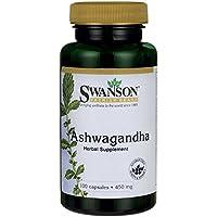 Swanson - Ashwagandha 450mg, 100 Kapseln - Wurzel-Schlafbeere (Withania Somnifera) - Natürliche Ayurveda Heilpflanze... preisvergleich bei billige-tabletten.eu