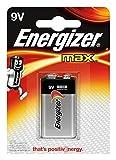 Energizer Batterie Max Alkaline 9V (E-Block/6LR61 1er-Packung)