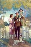Posterlounge Leinwandbild 100 x 150 cm: Zuhause angekommen von Newell Convers Wyeth/Bridgeman Images - fertiges Wandbild, Bild auf Keilrahmen, Fertigbild auf Echter Leinwand, Leinwanddruck