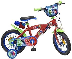 "Toim- Bicicleta 14"" PJ Masks 4/7 AÑOS, (1404)"