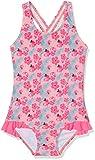NAME IT Baby-Mädchen Einteiler NITZANA Swimsuit MZ, Mehrfarbig (Flamingo Pink), 74