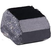 Piedras negras naturales de la turmalina, decoración irregular de las barras Joyería de DIY que hace las herramientas Decoraciones del tanque de pescados Piedra curativa
