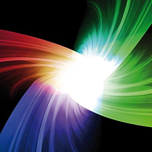 Apple iPhone 4 Housse Étui Silicone Coque Protection Prisme Couleurs Lumière Sideflip Sac
