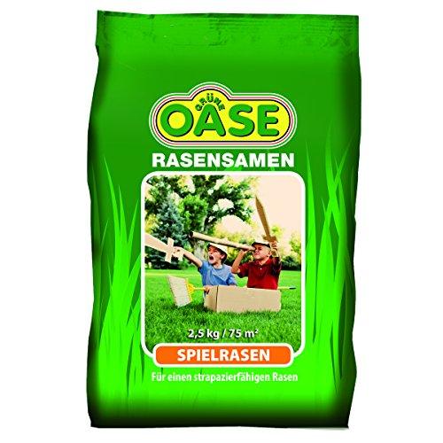 Grüne Oase Rasensamen GO-110 Spielrasen 2,5 kg, grün