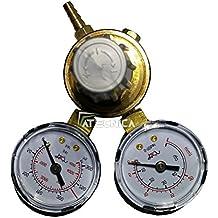 Reductor de presión para soldadura de hilo Argon/CO2dos manometri