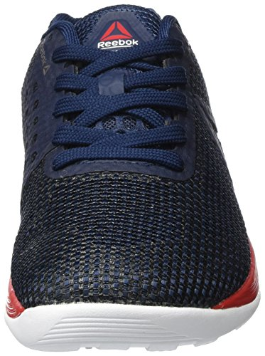 Reebok Damen Crossfit Nano 7 Hallenschuhe Blau (Collegiate Navy/multicolore Primal Red/white/black)