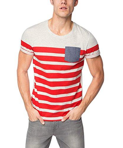 Billig edc by ESPRIT Herren T-Shirt 076CC2K010, Rot (Cherry Red 615 ... 1dd8a07163