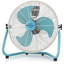 Orbegozo PW 1546 - Ventilador industrial Power Fan, potencia 135 W, 3 velocidades, diámetro hélice 45 cm, asa de transporte