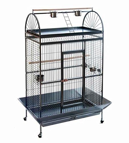 Antique Style mobile pappagallo gabbia voliera-un elegante che offre il tuo pappagalli capiente Home