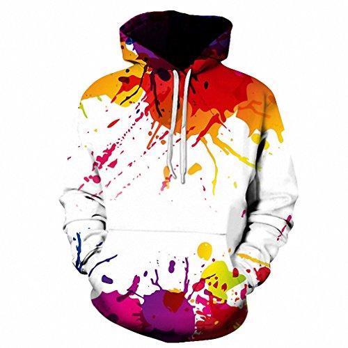Moletom 3D Print Color Blocks Men Hoodies With Hat Thin Tops Harajuku Graphic Casual Sweatshirts Hoodies Plus Size 6XL