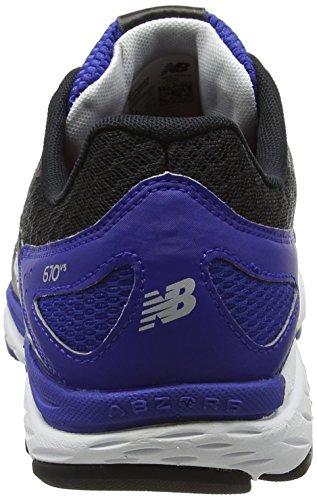 New Balance Running, Chaussures de Fitness Homme, Noir Multicolore (Black)