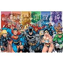 DC Comics Ligue de justice d'Amérique Générations Maxi Poster