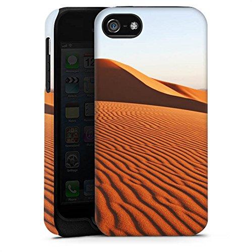 Apple iPhone X Silikon Hülle Case Schutzhülle Wüste Sand Dünen Tough Case matt