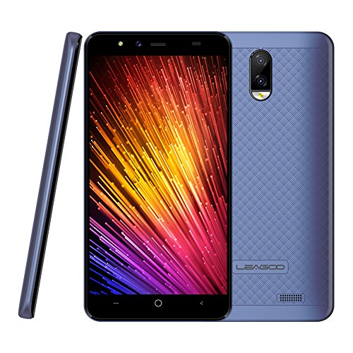 'bulary Leagoo Z74G Smartphone 5.0Android 7.0sc9832a Quad-Core 3000mAh 1Ram 8Go-Go Double Caméra arrière Rom Dual Sim Phone Phone