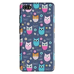 Bhishoom Designer Printed Back Case Cover for Huawei Honor 6 (Owl :: Cute :: Girlish :: Cartoon :: Pattern)