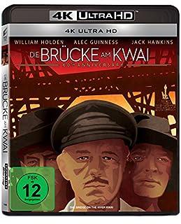 Die Brücke am Kwai (4K Ultra HD) [Blu-ray]