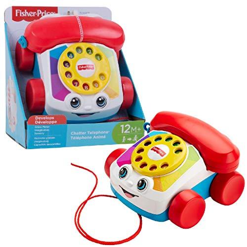 Fisher-Price Mon Téléphone Mobile Jouet Bébé, 12 Boutons...
