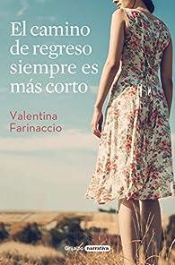 El camino de regreso siempre es más corto par Valentina Farinaccio
