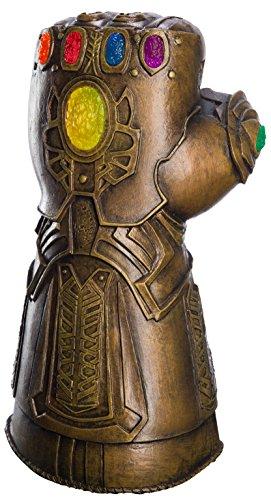 Rubie's Offizielle Avengers Infinity War Deluxe Unendlichkeits-Handschuh für Erwachsene, Kostüm-Zubehör