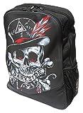Darkside Voodoo diseño de calavera alternativa Mochila Laptop bag