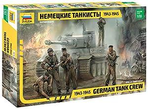 Zvezda - German tank crew 1943-1945 1:35 (Z3614)