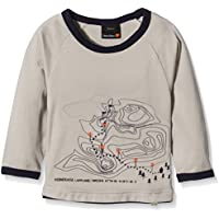 isbjorn de Suecia Kids 'Mountain–Camiseta de Manga Larga azelan, tamaño 86/92, Infantil, Mountain Long Sleeve Tencel, Caqui