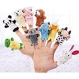 HMMJ Animaux Marionnettes à doigt, Aide aux histoires de bébé Jouets de doigt Cadeau parfait pour les enfants