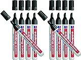 Permanentmarker edding 3300, nachfüllbar, 1 - 5 mm, schwarz 10er Nachfüll-Bundle