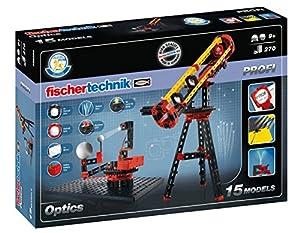 Fischertechnik Optics -  Aprende sobre Óptica y Efectos Ópticos con este Divertido y Educativo Juego de Construcción.