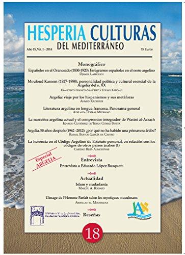 Hesperia Culturas del Mediterráneo Especial Argelia I