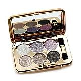 Ucanbe 6 Color Diamon Flash Shimmer Glittering Eyeshadow Palette Dramatic Eye Makeup Kit,No.1