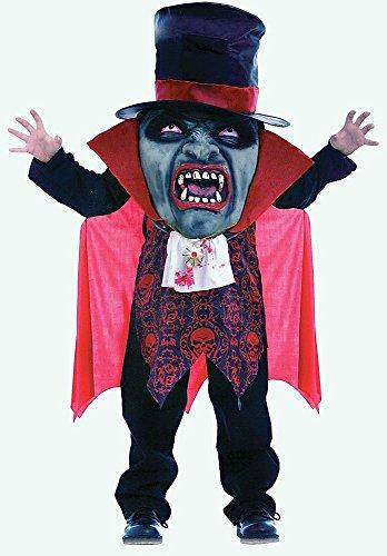 Vampir Mad Hatter Riese Halloween Kostüm Fasching Verkleidung Kinder (Kinder Hatter Halloween Mad Kostüm)