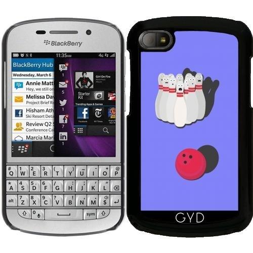 Hülle für Blackberry BB Q10 - Kegel Mit Bowlingkugel by ilovecotton