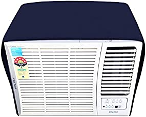 Lithara Blue Colored Window AC Cover For Whirlpool 1.5 Ton Magicool Copr
