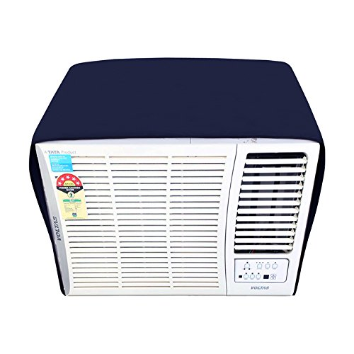 Lithara Blue Colored window AC Cover for Voltas 1 Ton 123 Lyi