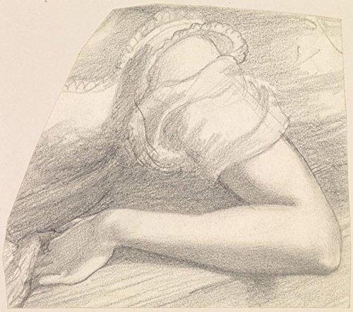 Das Museum Outlet-Weiblich-Studie des linken Arm und Schulter der Frau in Kostüm, 1878-82-A3Poster (Weibliche Link Kostüm)
