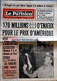 PARISIEN LIBERE (LE) [No 10995] du 26/01/1980 - 30 LINGOTS D'OR POUR LIBERER L'EPOUSE D'UN MEDECIN DE TOULOUSE - AU CONSEIL DE PARIS - CREDITS D'URGENCE POUR LA BUTTE - CARTE ORANGE GRATUITE POUR CERTAINS CHOMEURS - 170 MILLIONS 17 MILLIARDS DE CENTIMES D'ENJEUX POUR LE PRIX D'AMERIQUE - SKI - PELEN GAGNE A SAINT SERVAIS - FOOTBALL - MONACO PSG DEMAIN AU PARC - AUTO - GP DU BRESIL - LES FRANCAIS BIEN PLACES - MONTE CARLO - ROHRL DEVANT DARNICHE...