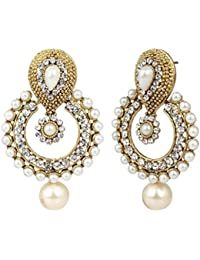 Cardinal Traditional Designer Stylish Latest Design Party Wear Designer Earring Set For Women/Girls