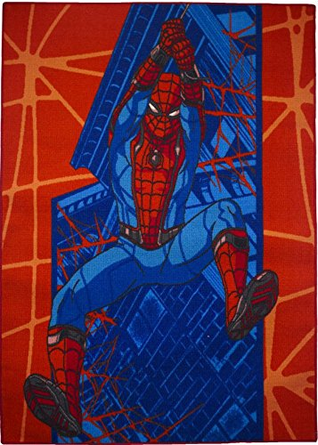 Spider-Man wallslinger–Alfombra 095x 133cms Gel Espuma–lavable