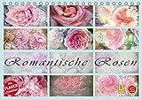 Romantische Rosen (Tischkalender 2019 DIN A5 quer): 12 zauberhafte, romantische Rosen im trendigen Vintage Stil (Geburtstagskalender, 14 Seiten ) (CALVENDO Natur)