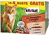Kitekat The Little Rascal - Wet Cat Food - Multipack of 24 Bags x 100 g