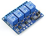 #9: REES52 Optocoupler 4 Channel 5V Relay Module Relay Control for Arduino DSP AVR PIC ARM